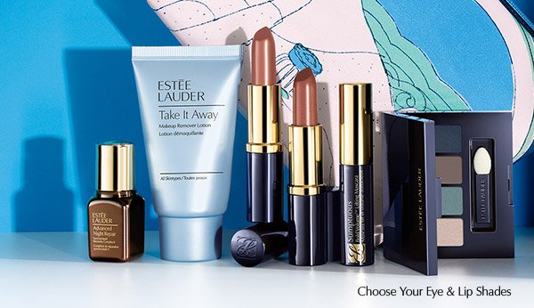 GET YOUR GIFT! Your 7-piece gift includes Estee Lauder's #1 Repair  Serum and more.