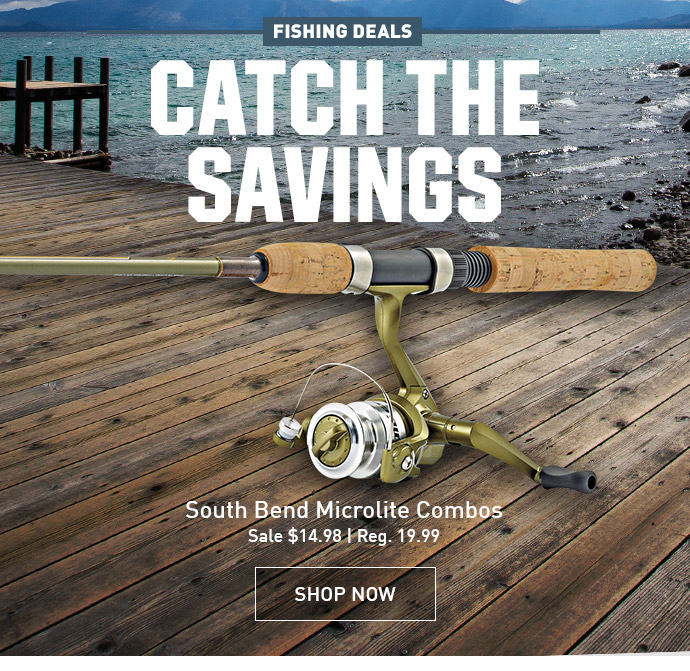 Dick 39 s sporting goods catch these fishing deals milled for Dicks sporting goods fishing