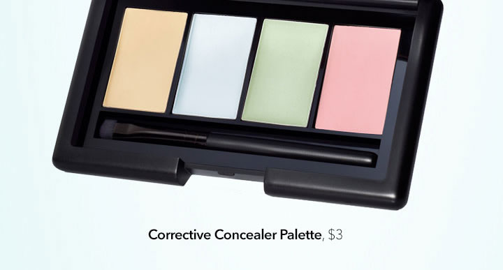 elf color correcting palette how to use