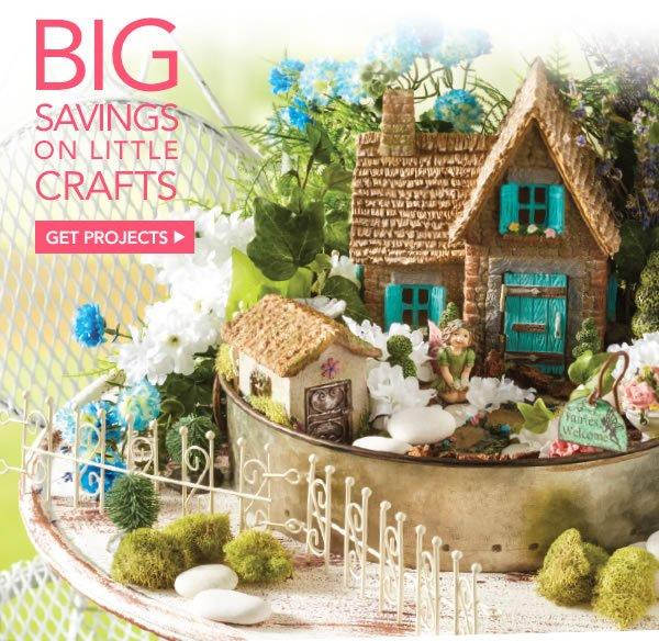 Jo Ann Fabric And Craft Store Hot Trend Miniature Fairy Gardens Are Big Fun Milled