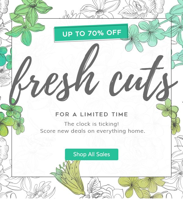 Wayfair My Account: Wayfair: It's Here! Up To 70% OFF Fresh Cuts For A Limited