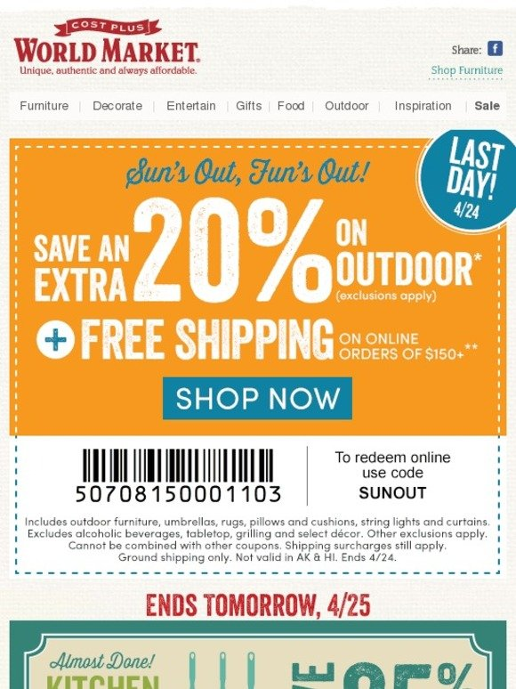 For Outdoor World Direct we currently have 3 coupons and 58 deals. Our users can save with our coupons on average about $ Todays best offer is 10% Off.