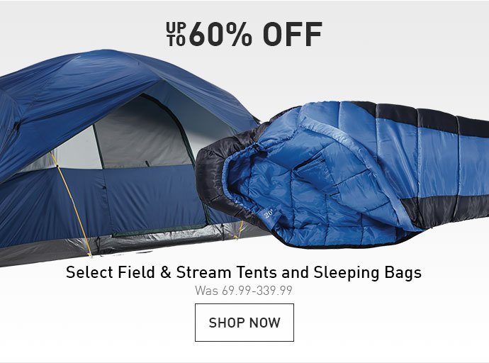 UP TO 60% OFF | SELECT FIELD u0026AMP; STREAM TENTS AND SLEEPING BAGS |  sc 1 st  Milled & Dicku0027s Sporting Goods: Adventure Awaits on the Water With Up To ...