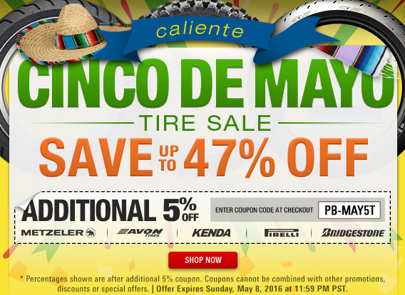 Cinco De Mayo Tire Sale