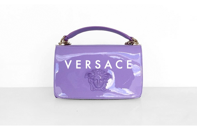 0970357c185 Versace takes effortless glamour to new levels with covetable bags and  shoes for all women.