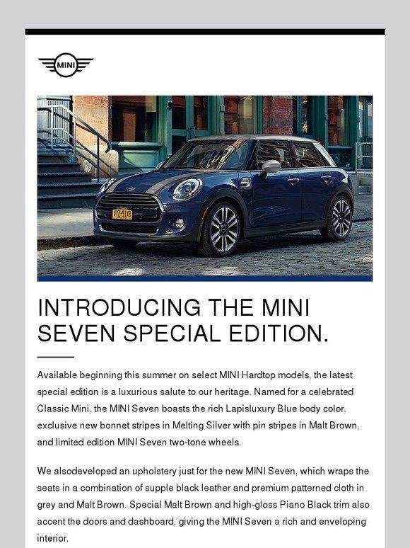 4e22f4f3241 MINI USA: Sneak peek at our latest special edition MINI. | Milled
