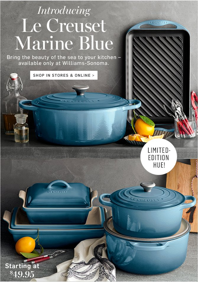 Pottery Barn Le Creuset S New Color Is Here Only At
