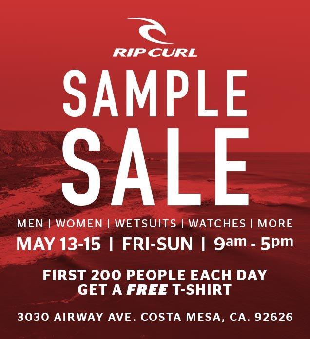 Rip Curl: Rip Curl Summer Sample Sale | Milled