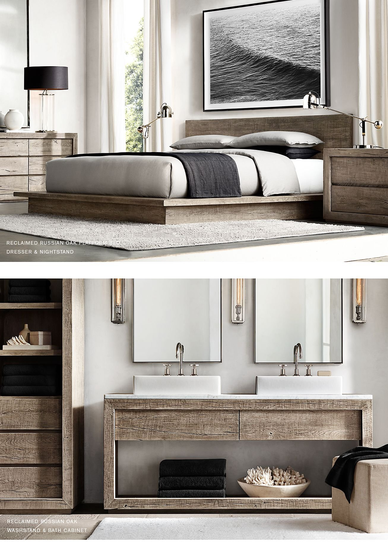 Restoration Hardware Rh Modern Discover Our Curated Collection Milled