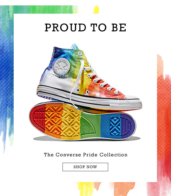 f325cc54f217 Converse  Proud to Be. The 2016 Pride Collection is Here!