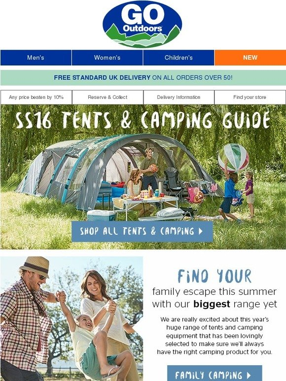 go outdoors new ss16 guide family festivals. Black Bedroom Furniture Sets. Home Design Ideas