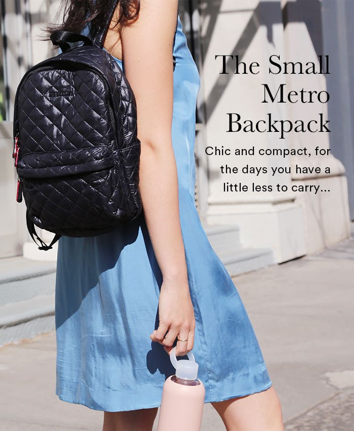 8780fd7df6f2 M Z WALLACE  Introducing The Small Metro Backpack