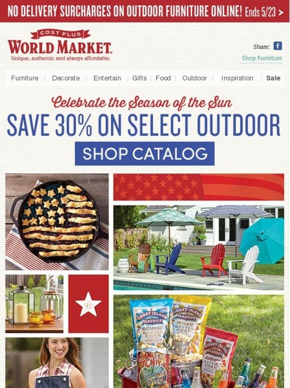 World market coupon in store 2018