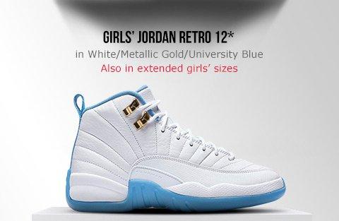 ceea1cf950a ... Girls Jordan Retro 12 - Foot Locker; air ...