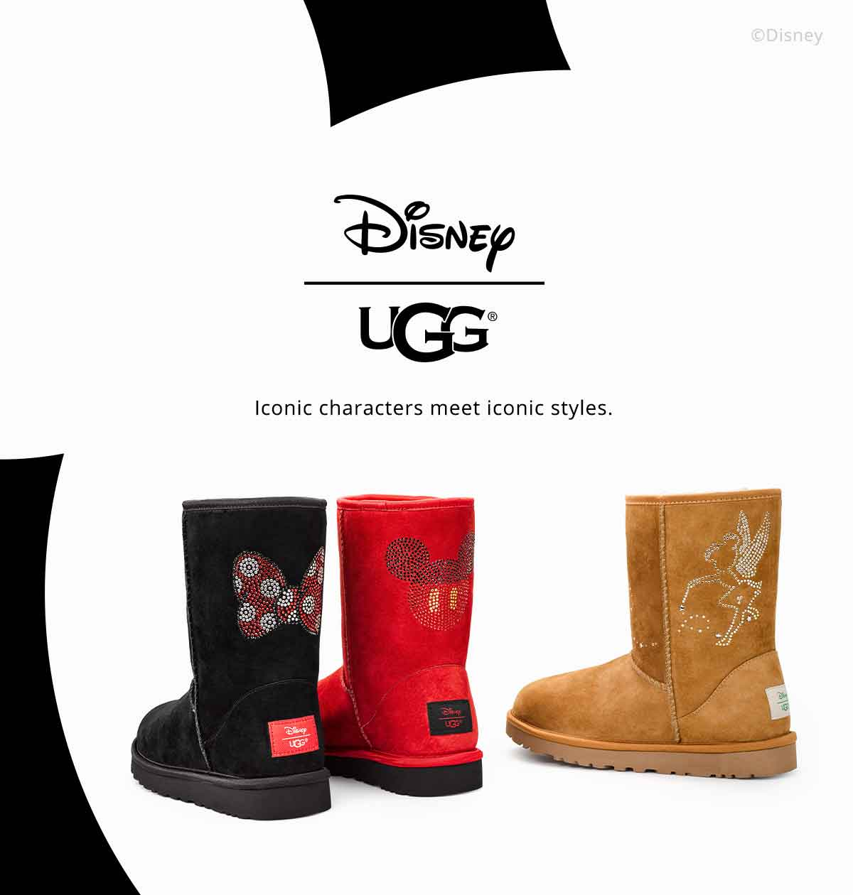 botte ugg minnie