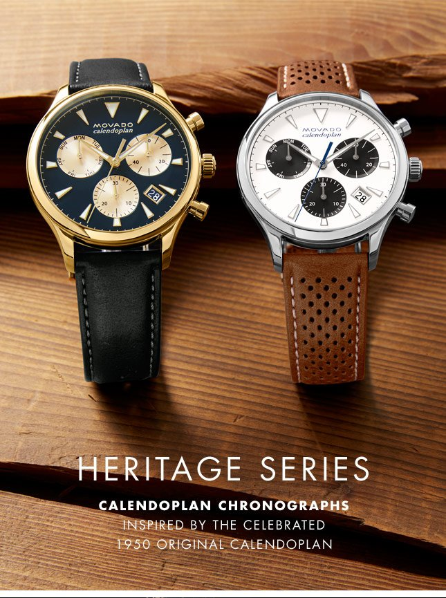 Sensational Esq The New Heritage Series Calendoplan Chronographs Milled Hairstyle Inspiration Daily Dogsangcom