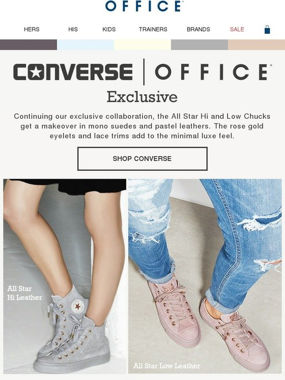 Office Shoes: Converse x OFFICE