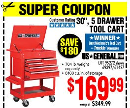Harbor Freight: Tool Disposal Notice • Huge Price Reductions