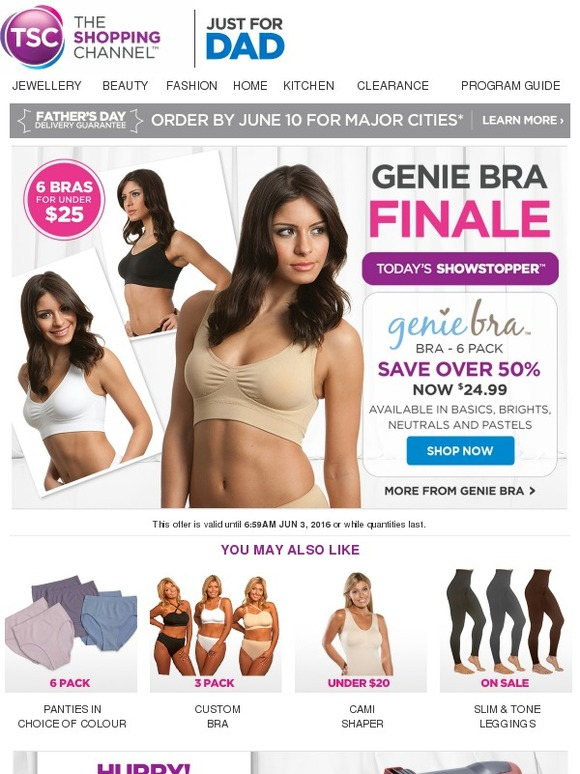 db1da0be05b7b The Shopping Channel  Today s Showstopper™ - Genie Bra