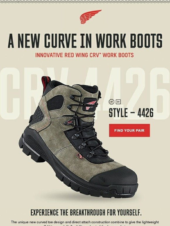 Red Wing Shoes: A New Curve in Work