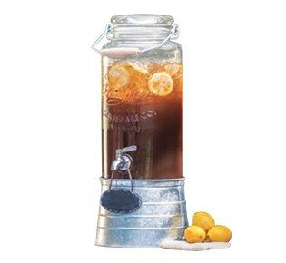 Farmstand Glass Beverage Dispenser