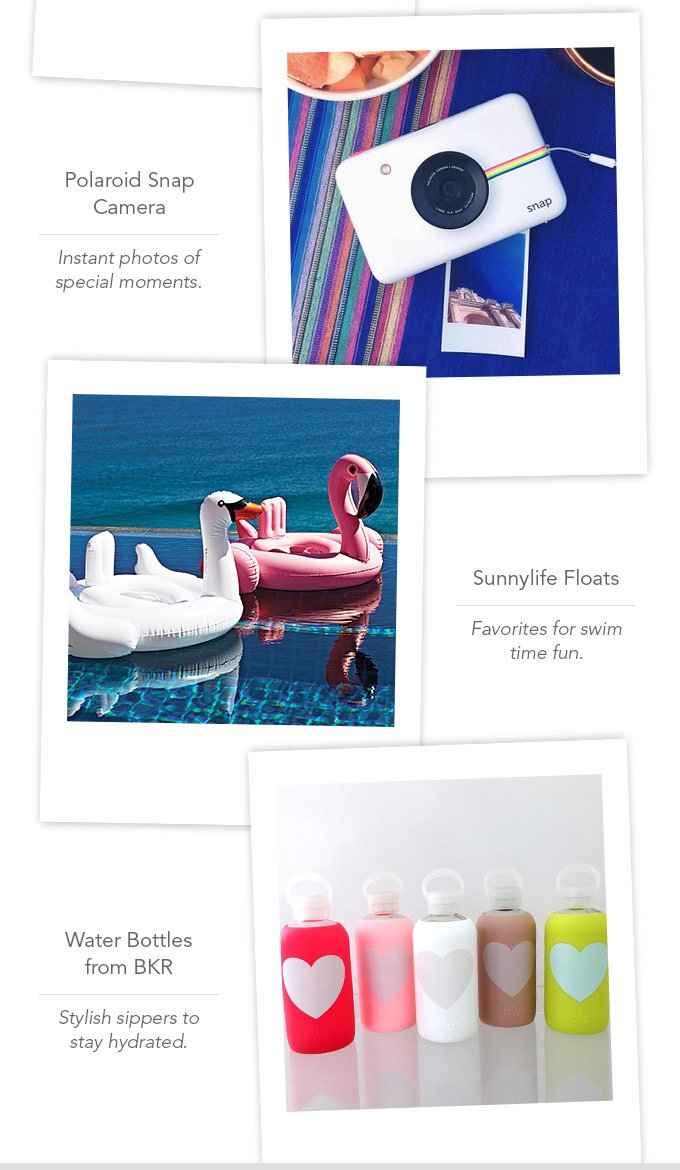 A Summer To Treasure Sweepstakes. Enter for the chance to win over $700 inpoolside treasures from Janie and Jack,Polaroid, Pottery Barn Kids, Sunnylife and BKR(2). Enter Now