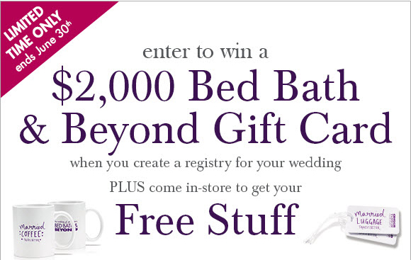 Bed Bath And Beyond Bridal Free Book