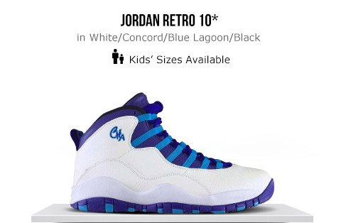 best website 63b57 b489a jordan retro 10 footlocker