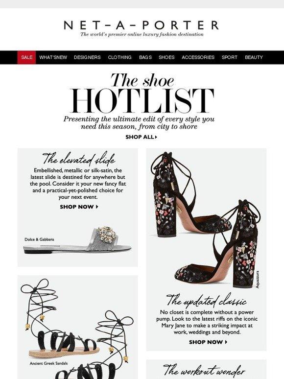 A Shoe Net Summer PorterYour HotlistMilled oeCxBd
