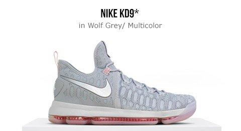 38dd5e459 Foot Locker Nike KD 9 - Wolf Grey Multicolor