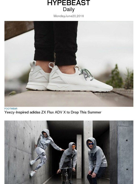 reputable site 289cd dfb7e Hypebeast: Yeezy-Inspired adidas ZX Flux ADV X to Drop This ...