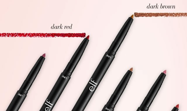Elf lip liner and blending brush
