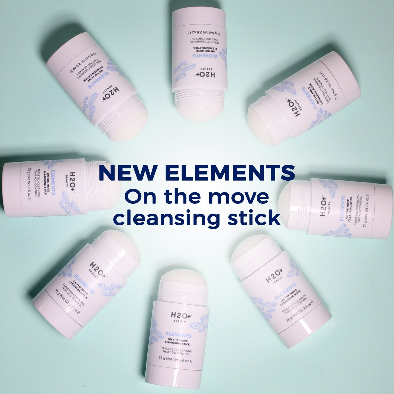 H2o beauty new anti aging collection cleansing stick for 111 sutter street 22nd floor san francisco ca 94104