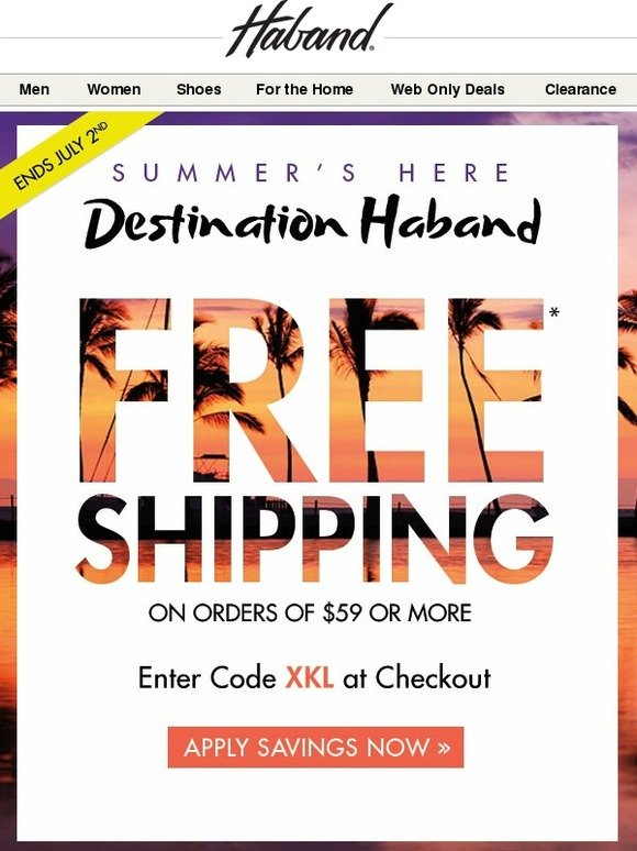 Discounts average $11 off with a Haband! promo code or coupon. 50 Haband! coupons now on RetailMeNot.