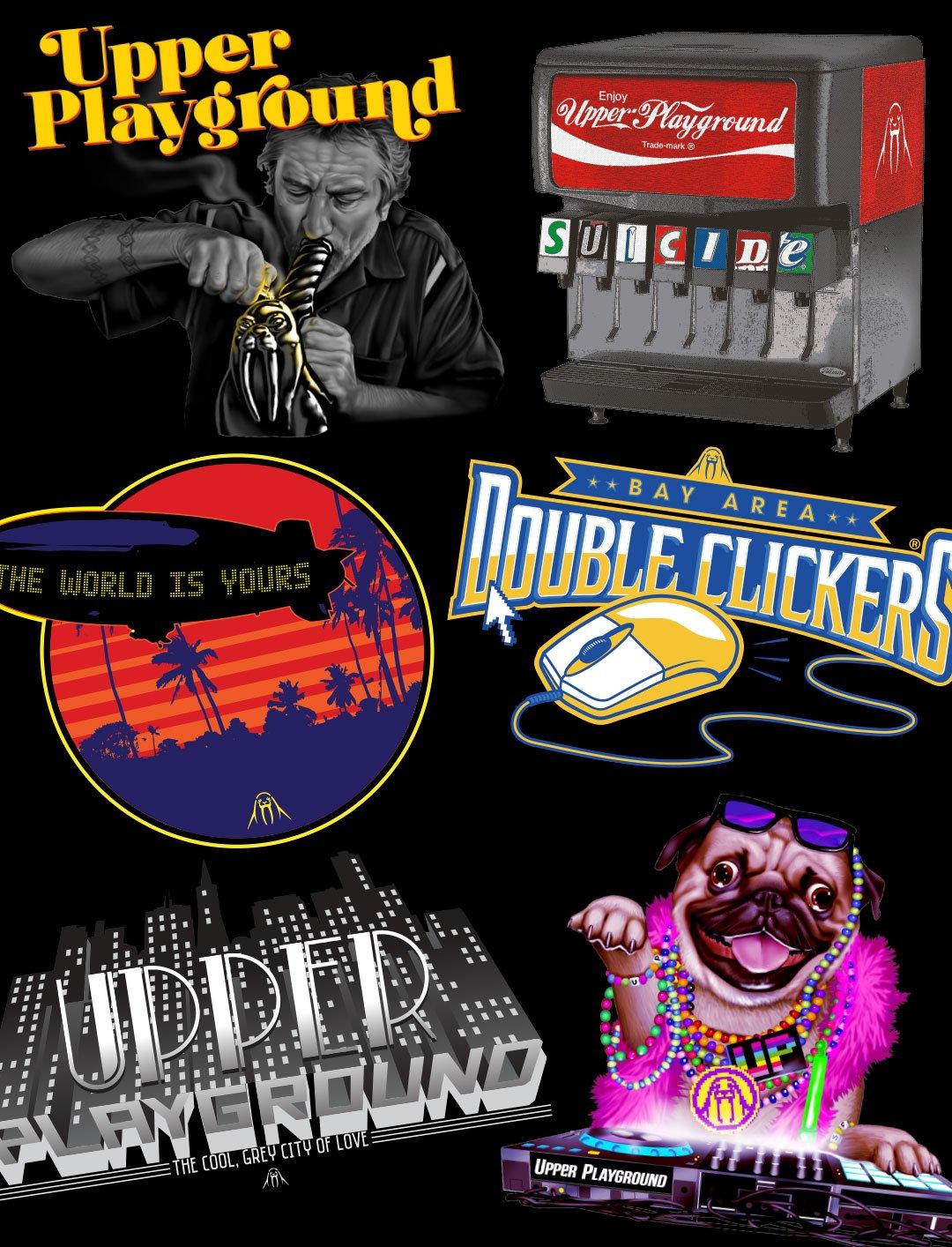 Jeremy Fish, Hoodies, Patches, Van, Bunny, Skull, Fish, Zip, Upper Playground, UP, San Francisco, SF, CA