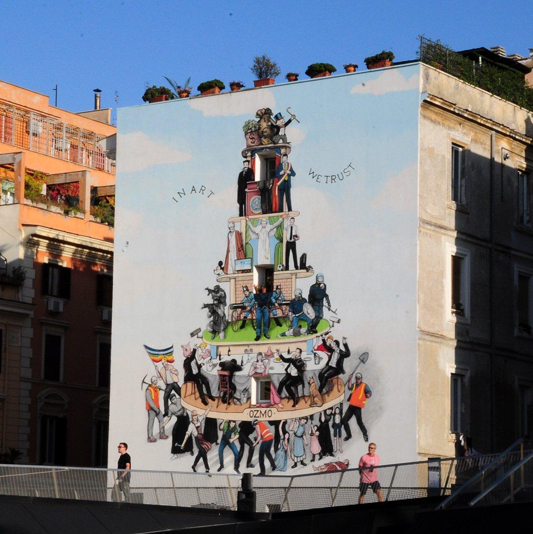 'Ferro e Oro' First US Solo Exhibition By Italian Artist OZMO