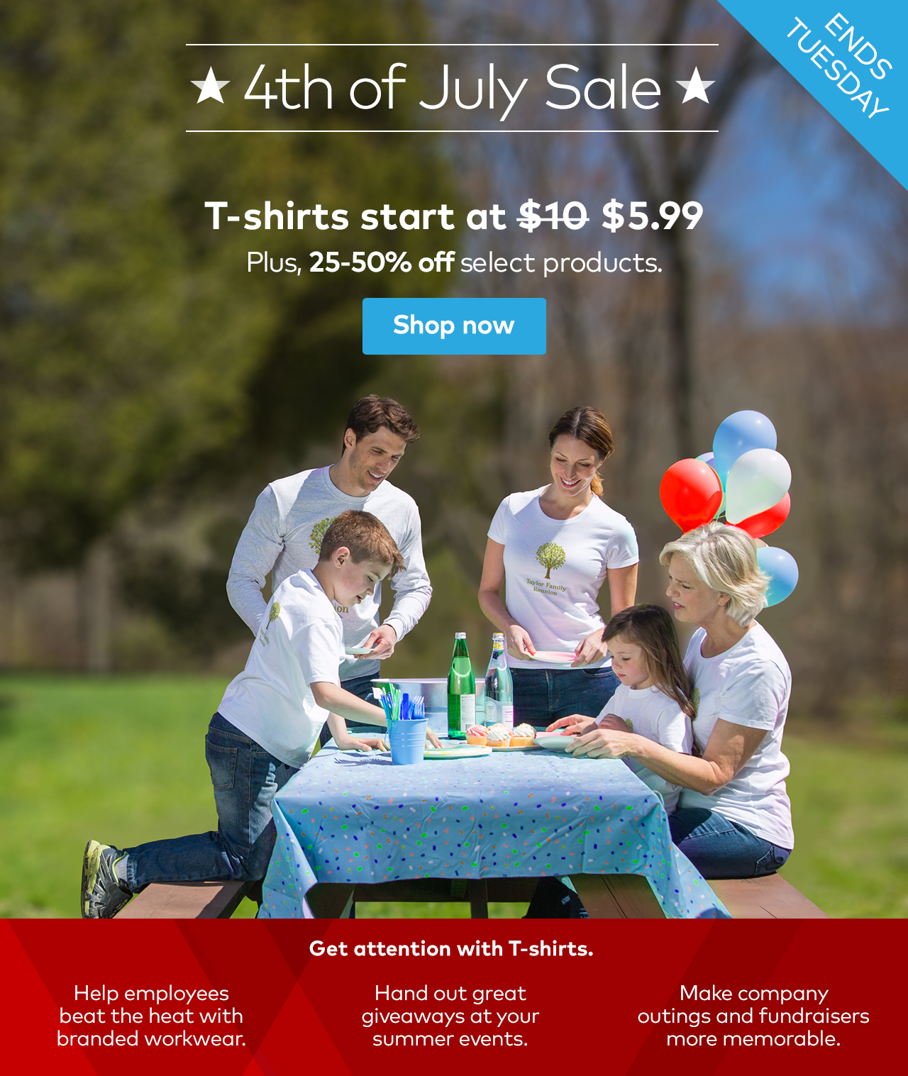 vistaprint 4th of july sale 25 50 off limited time
