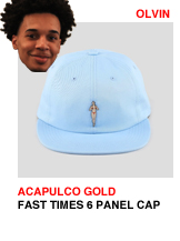 Acapulco Gold Fast Times 6 Panel Cap