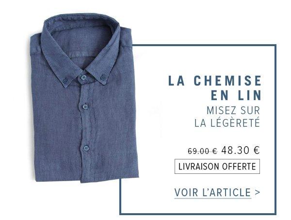 La chemise en lin