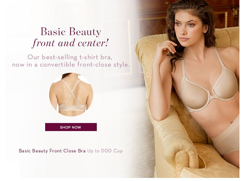 207aef849275d Wacoal  Our best-selling Basic Beauty T-shirt Bra