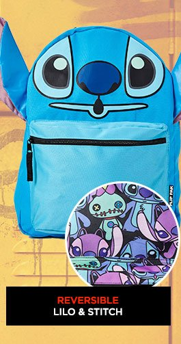 693ad00c6b97 Shop The Reversible Lilo   Stitch Backpack!