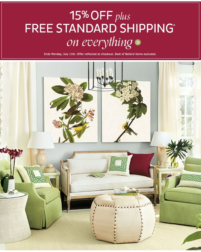 ballard designs free shipping promo code ballard designs ballard designs hurry you still have time to save up to