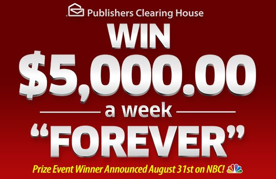 BeautySage com: Big Payout August 31st from PCH - - Are you