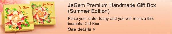 JeGem Premium Handmade Gift Box (Summer Edition)