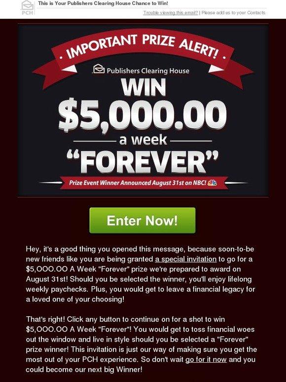 BeautySage com: You Could Win $5,OOO OO A Week