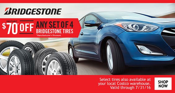 Costo: New Online Only Savings! Bridgestone Tires, Nutrisystem