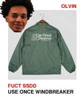 Fuct SSDD Use Once Windbreaker