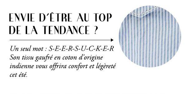ENVIE D'ÊTRE AU TOP DE LA TENDANCE ?