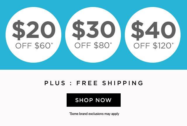 Shoebuy coupon 40