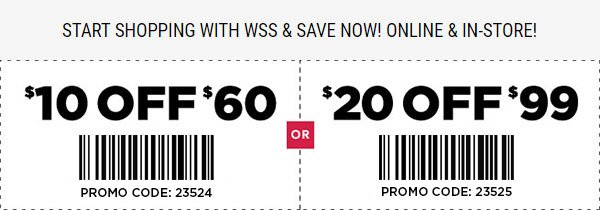 Coupon Code for $20 off $99 purchase